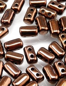Rulla gyöngy - Jet Bronze