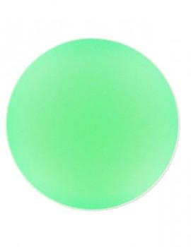 Lunasoft Cabochon 18 mm - Fluoreszkáló zöld