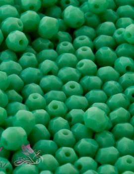 Cseh csiszolt 4mm-Green Turquoise (53130)-40 db