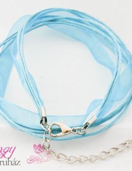 Organza Nyakláncalap-Aquamarine
