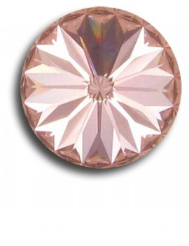 Swarovski rivoli 8 mm-Vintage Rose-1 db