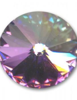 Swarovski rivoli 8 mm-Crystal Vitrail Light-1 db