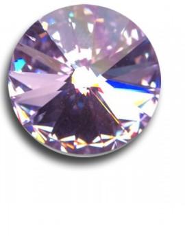 Swarovski rivoli 8 mm-Violet-1 db