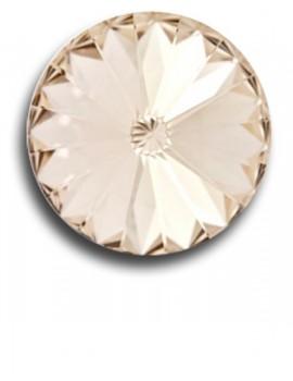 Swarovski rivoli 8 mm-Light Silk-1 db