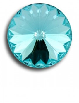 Swarovski rivoli 8 mm- Light Turquoise-1 db