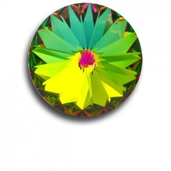 Swarovski rivoli 8 mm-Crystal Vitrail Medium-1 db