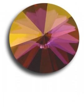 Swarovski rivoli 8 mm-Crystal Lilac Shadow-1 db