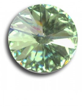 Swarovski rivoli 8 mm-Chrysolite-1 db