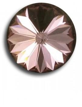 Swarovski rivoli 8 mm-Crystal Antique Pink-1 db