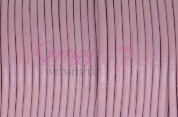 2 mm bőrszál-Rózsaszín