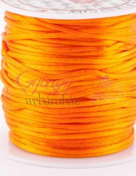 2 mm selyemszál-Narancs-1 m