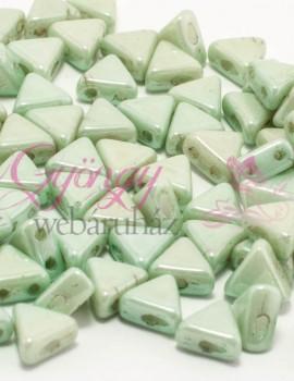 Kheops par Puca 6 mm-Op.Light Green Ceramic Look-10 gr