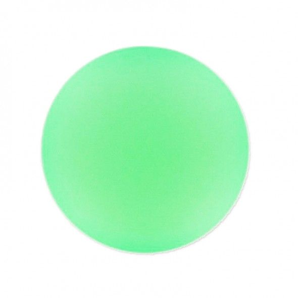 Lunasoft Cabochon 24 mm-Fluoreszkáló zöld