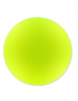 Lunasoft Cabochon 4 mm-Fluoreszkáló sárga