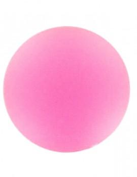 Lunasoft cabochon 4 mm-Fluoreszkáló rózsaszín