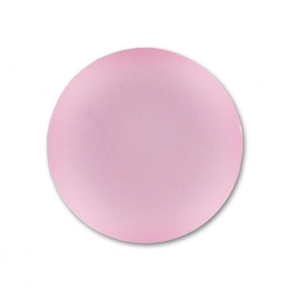 Lunasoft cabochon 24 mm-Light Rose