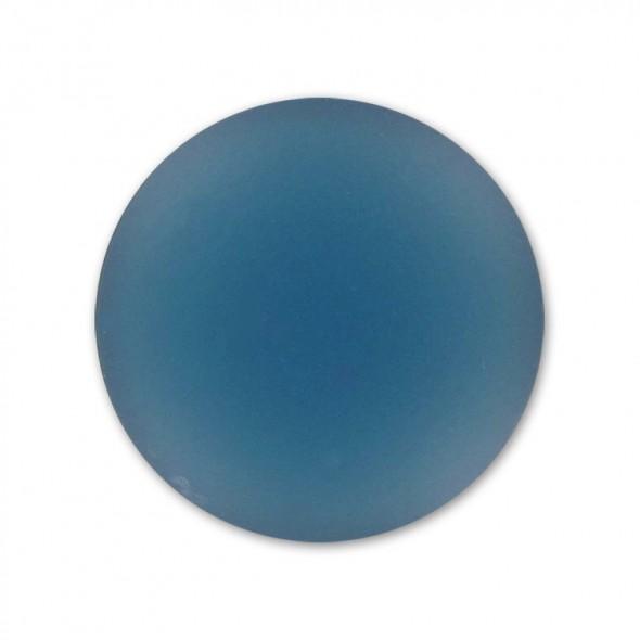 Lunasoft cabochon 18 mm-Denim Blue-1 db