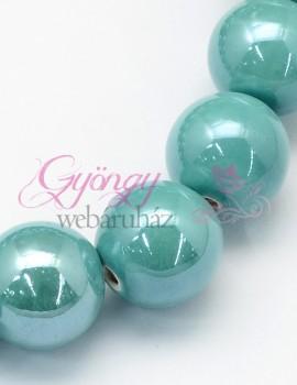 8 mm porcelán-világos tenger zöld-5 db