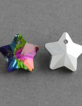 Csillag-vitrail medium-1 db