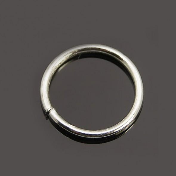 10 mm szimpla karika-ezüst-10 db