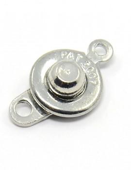 Patentos kapocs-ezüst-1 db