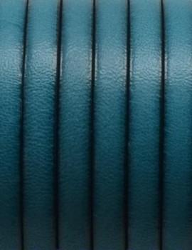 5x1,5 mm bőr-Turqoise-1 cm