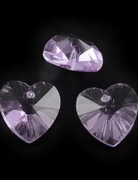 Szív-Violet-1 db