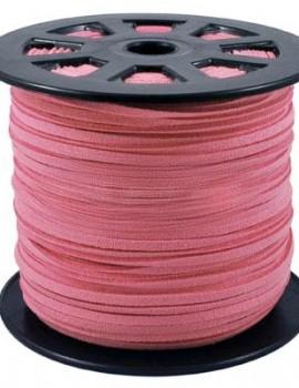 3 mm hasított bőrszál-Pink-1 m