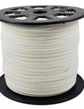 Hasított bőrszál-3 mm-Fehér