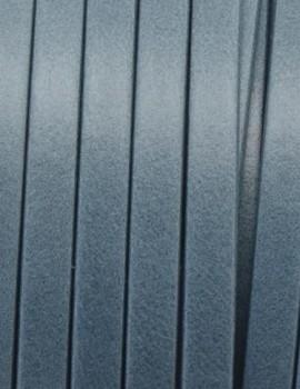 5x1,5 mm bőr-Szürkéskék-1 cm