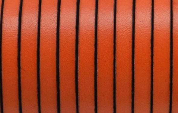 5x1,5 mm bőr-Narancs-1 cm