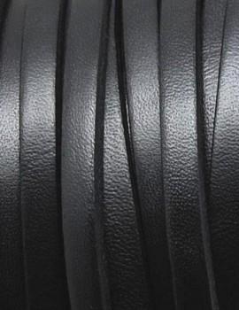 5x1,5 mm bőr-Fekete-1 cm