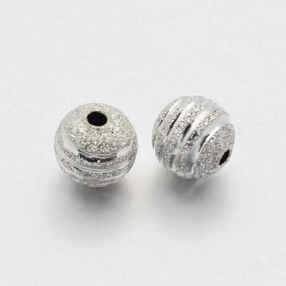 6 mm golyó-ezüst-1 db