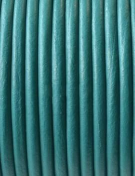 2,5 mm bőrszál-Türkiz-1 m