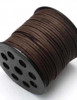 3 mm hasított bőrszál-kávé-1 m