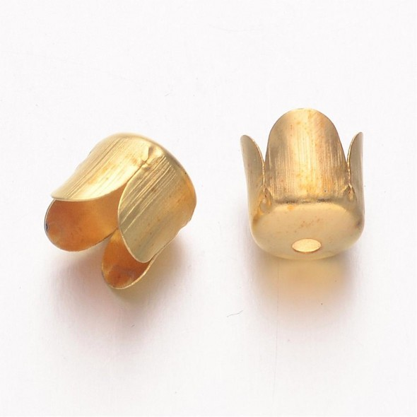 Tulipán kupak-Arany-1 db