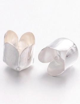 Tulipán kupak -Ezüst-1 db