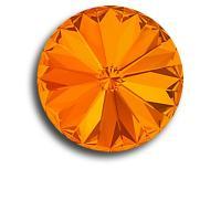 Swarovski rivoli 8 mm-Tangerine-1 db