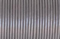2 mm bőrszál-metál szürkés lila-1 m