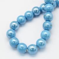 10 mm porcelán-Sky blue-5 db