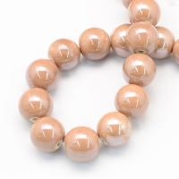 8 mm porcelán-Világos barna-5 db